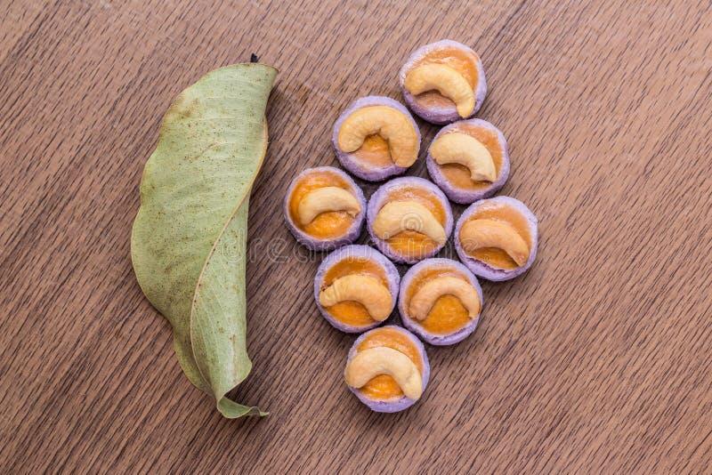 Galletas del anacardo fotografía de archivo