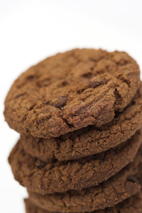 Galletas del chocolate imagenes de archivo
