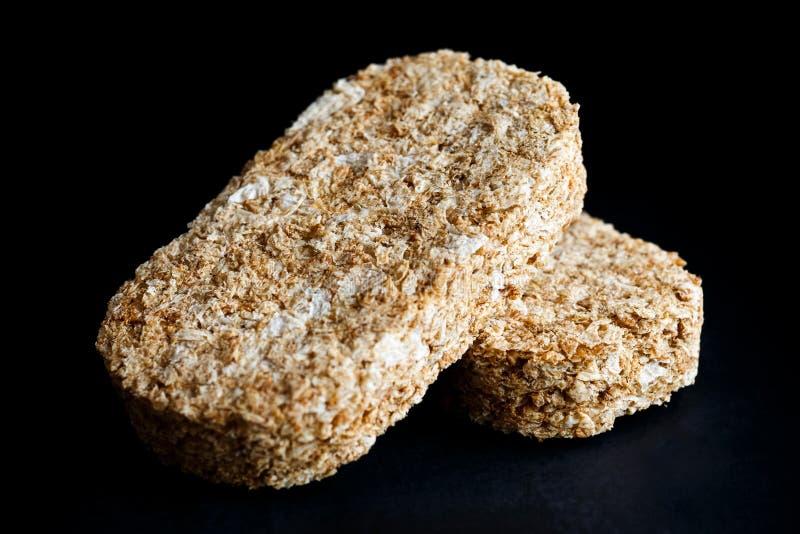 Galletas del desayuno del trigo integral imagen de archivo