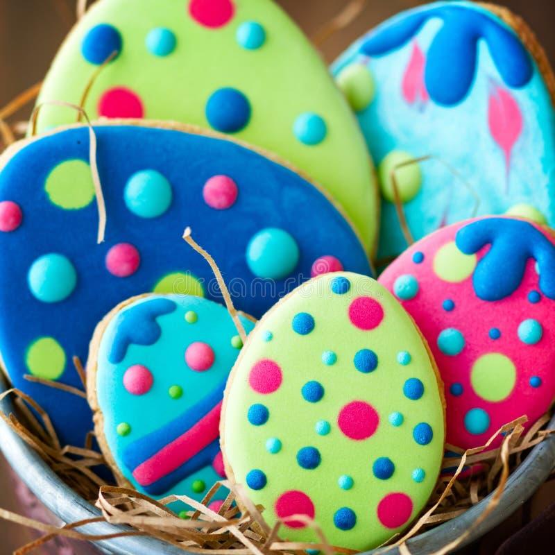 Galletas del huevo de Pascua imagen de archivo