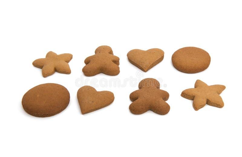 Galletas del pan de jengibre stock de ilustración