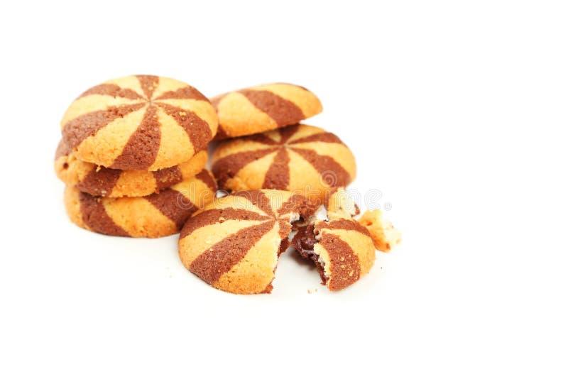 Download Galletas Deliciosas Aisladas En Blanco Foto de archivo - Imagen de homemade, marrón: 44853616