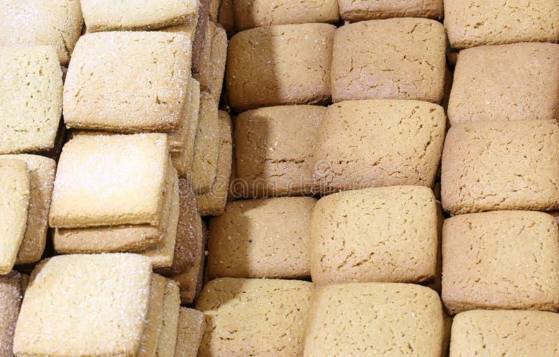 Galletas hechas con la harina gluten-libre especial también conveniente para el PE fotos de archivo libres de regalías