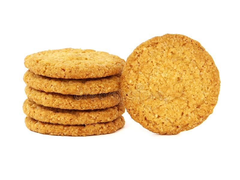 Galletas o galletas de la avena fotografía de archivo