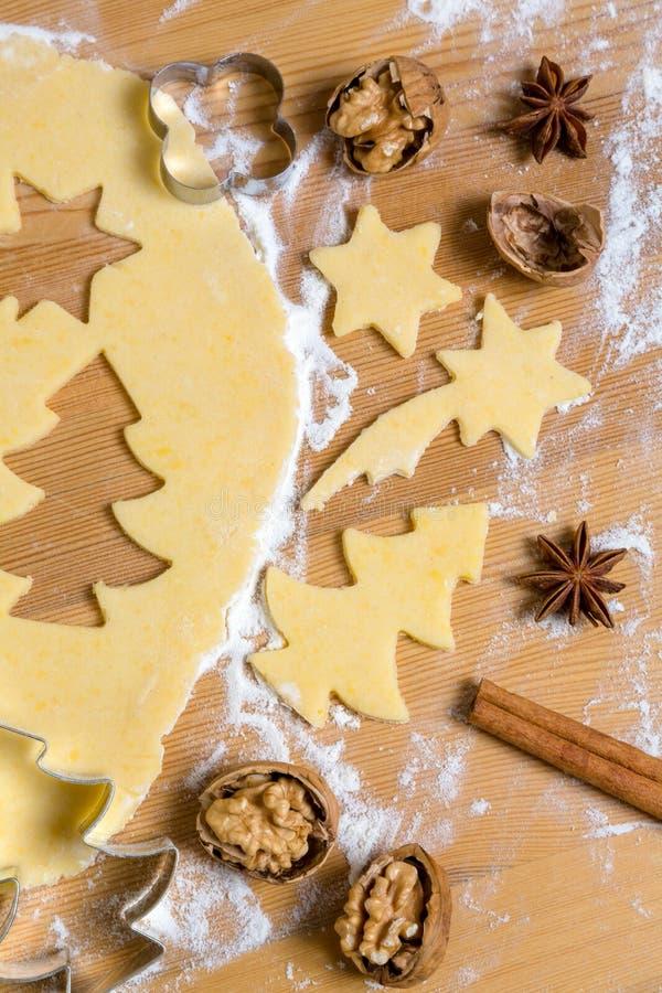Galletas para la Navidad imagen de archivo libre de regalías