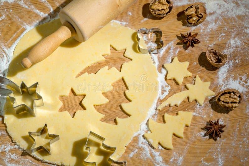 Galletas para la Navidad foto de archivo libre de regalías