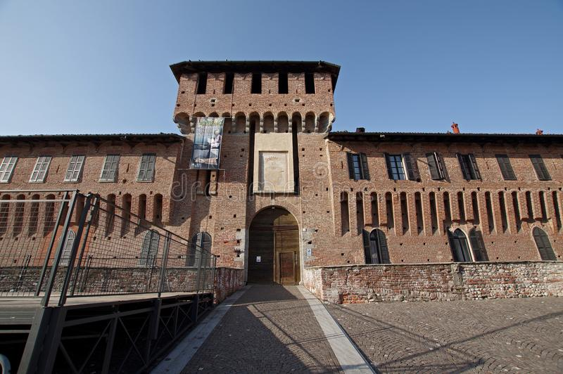 Galliate Castle, Italy royalty free stock image