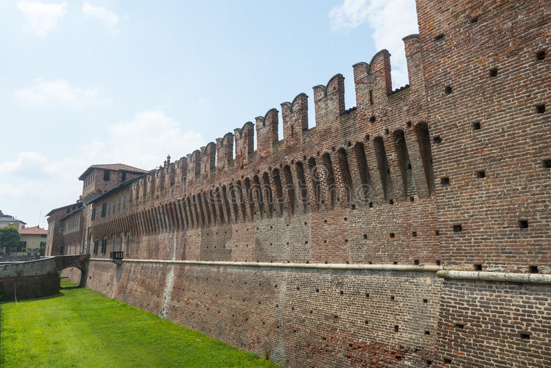 Galliate, Castle royalty free stock photography