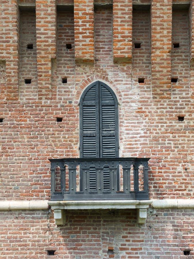 Galliate, Castle royalty free stock photos