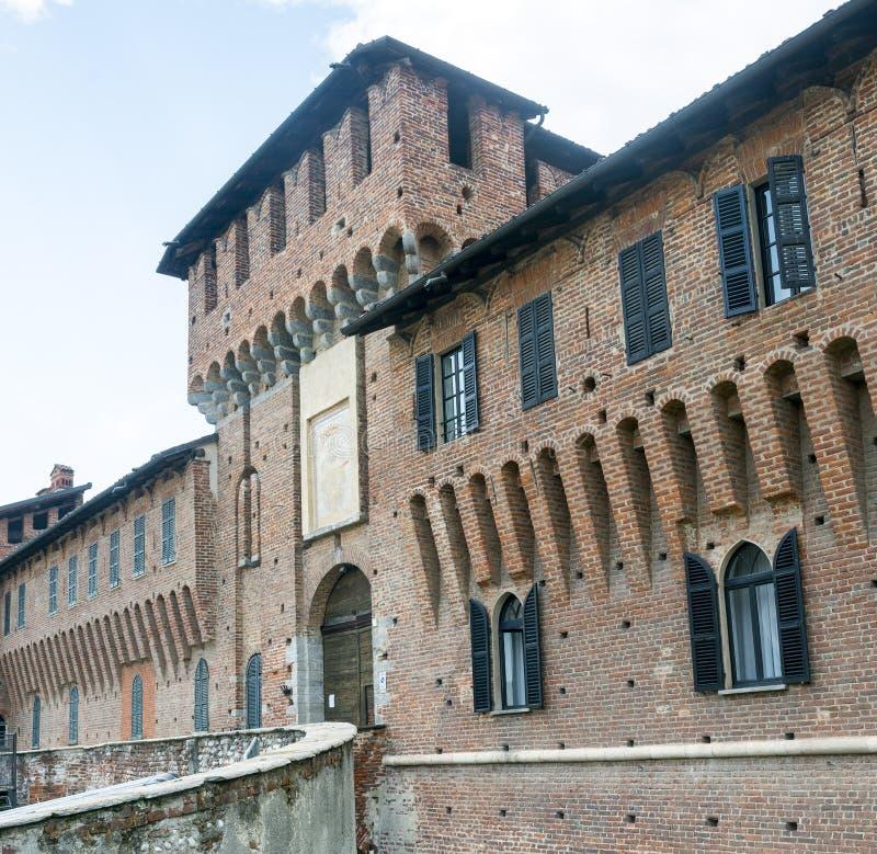 Galliate, Castle royalty free stock photo