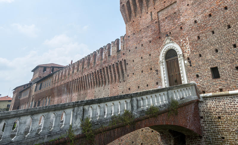 Galliate, Castle stock images