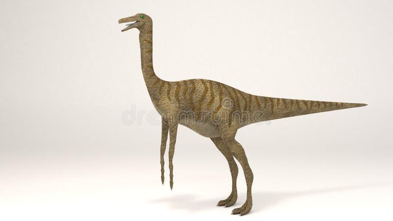 Gallimimus-Dinosaurier lizenzfreie stockfotografie