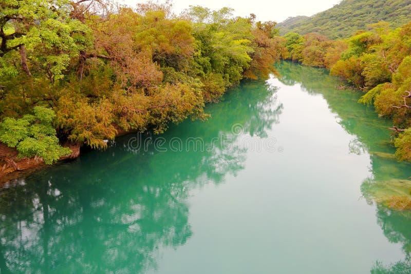Gallinas fiume, San Luis potosi I immagine stock