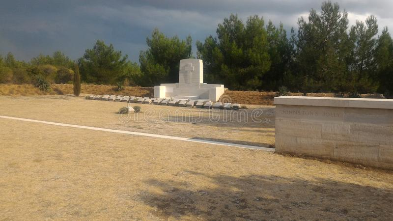 Download Lone Pine Cemetery editorial stock photo. Image of gallipoli - 112779308
