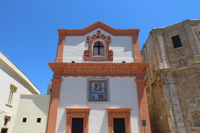 Gallipoli, Itália fotos de stock