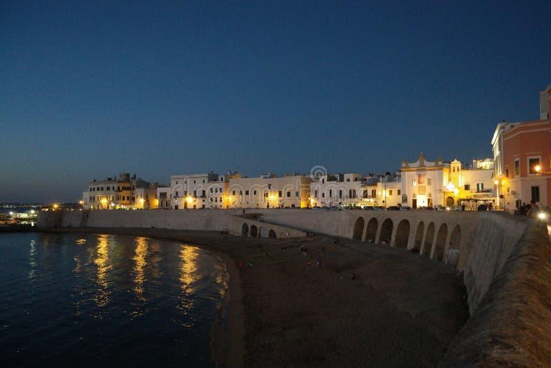 Gallipoli, Puglia, Włochy zdjęcie royalty free