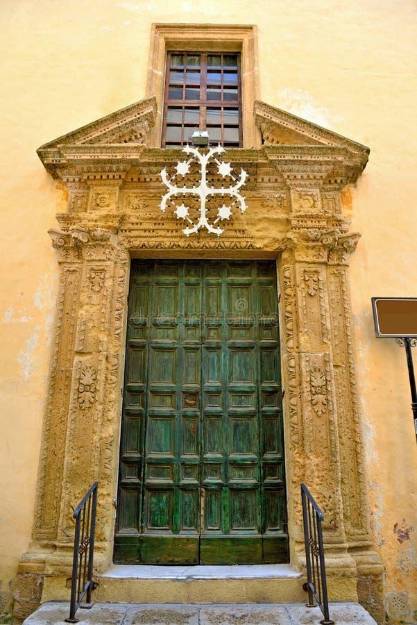 Gallipoli Salento Italië stock afbeeldingen