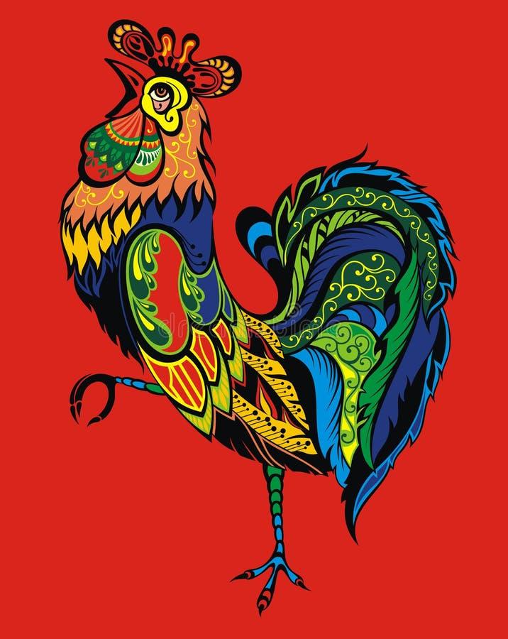 Gallo libre illustration