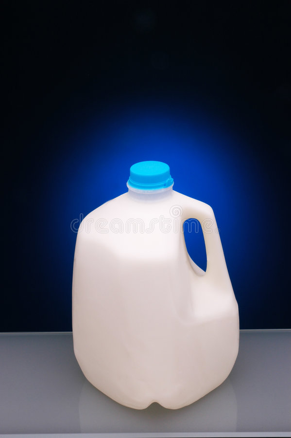 Gallon Melk stock afbeeldingen