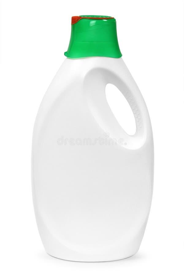 Gallone di plastica bianco fotografie stock