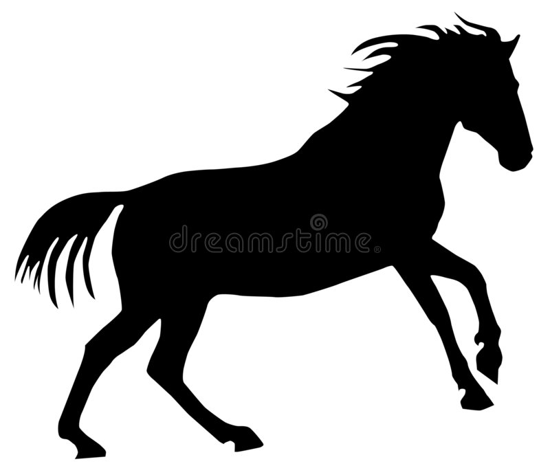 Gallop stock illustration