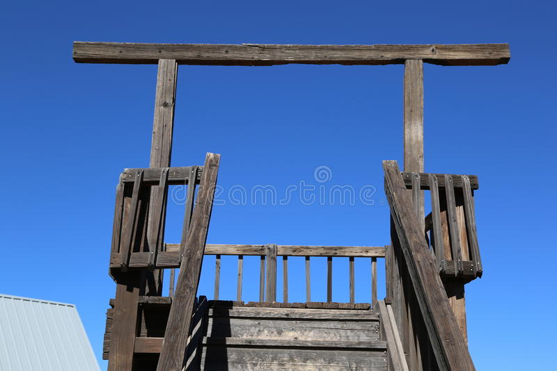 gallows imagem de stock royalty free