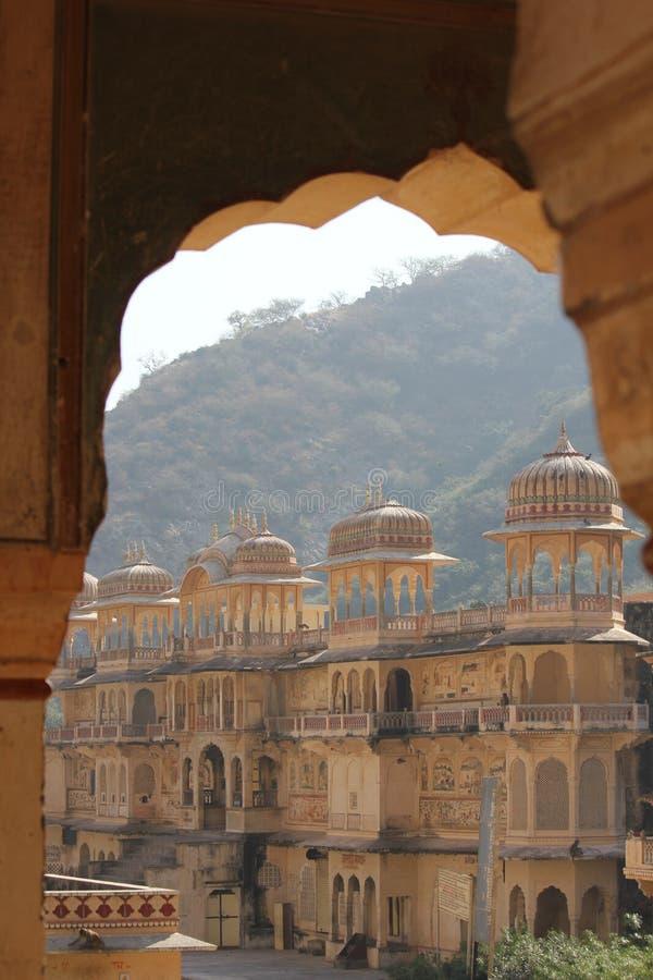 Galta świątynia, architektoniczny szczegół obrazy royalty free