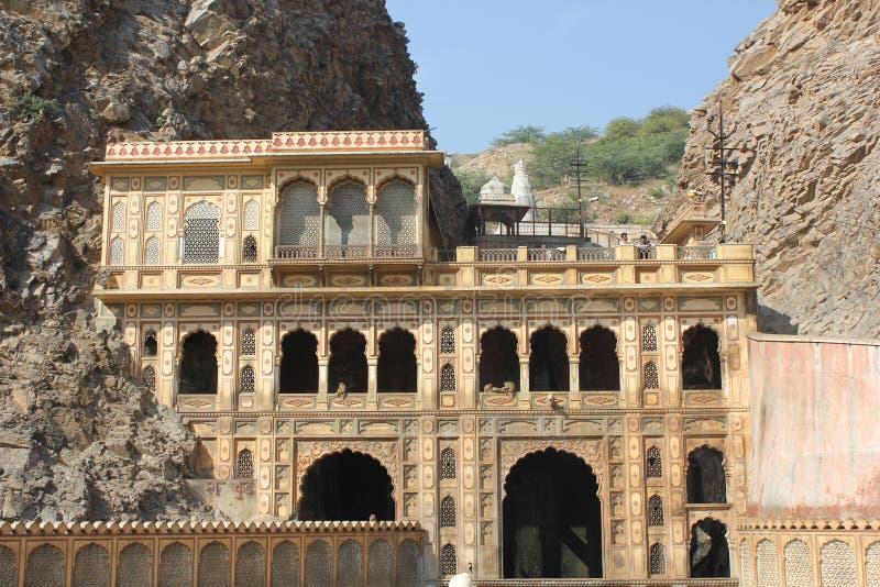 Galta świątynia, India zdjęcia royalty free