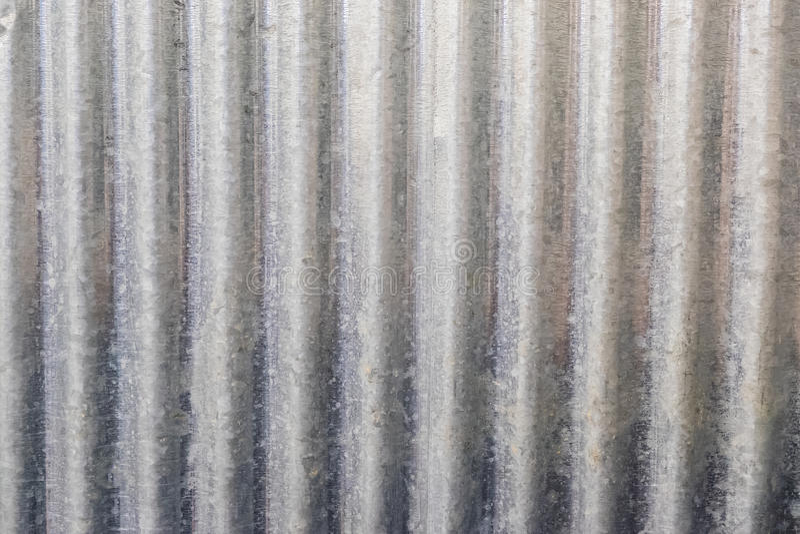 Galvanised iron. Detail of galvanised iron background texture stock images