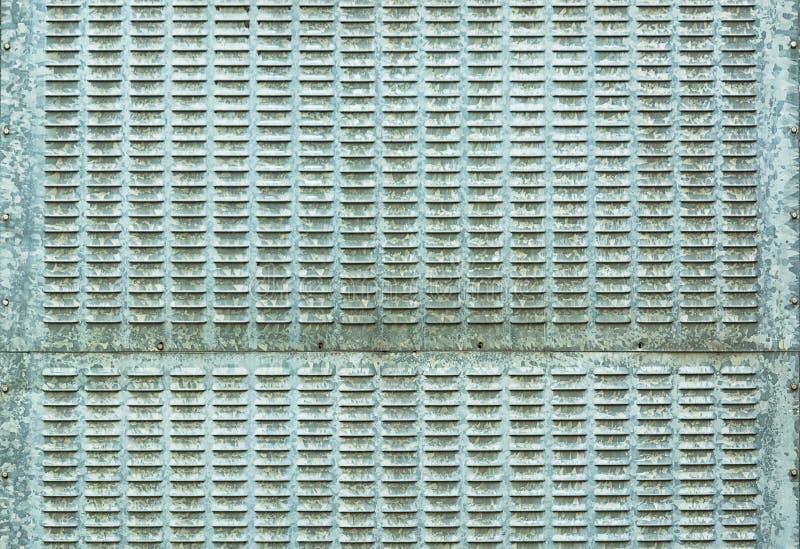 Galvaniserende ijzerplaat - staalachtergrond stock foto's