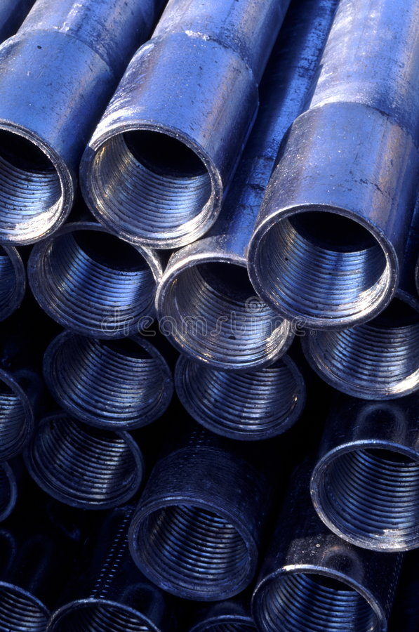 Free Galvanized Pipes Royalty Free Stock Images - 2090629