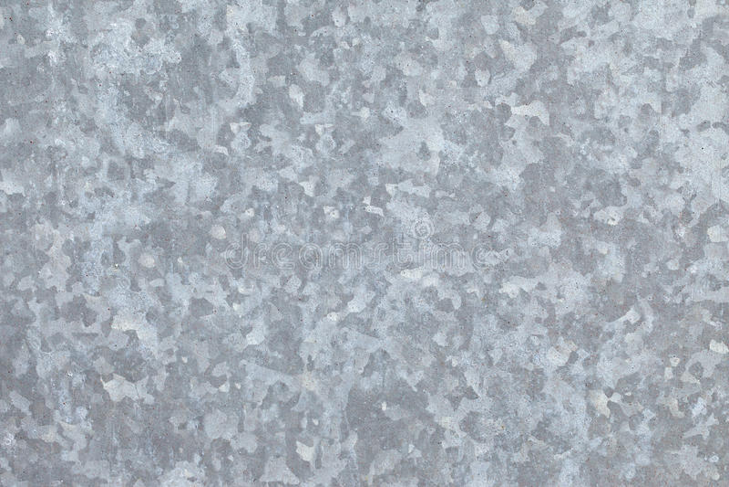 Galvanized sheet of metal stock photos