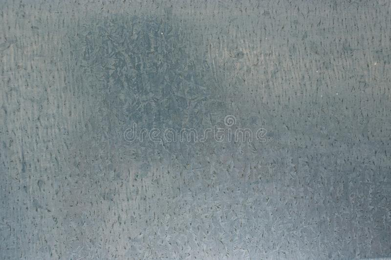 Galvanized steel plate background - metallic stainless corrugated chrome texture stock photography