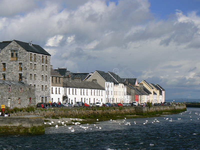 Galway Bay royalty free stock image