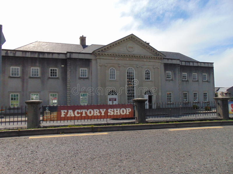 Galway Crystal Building royalty free stock images