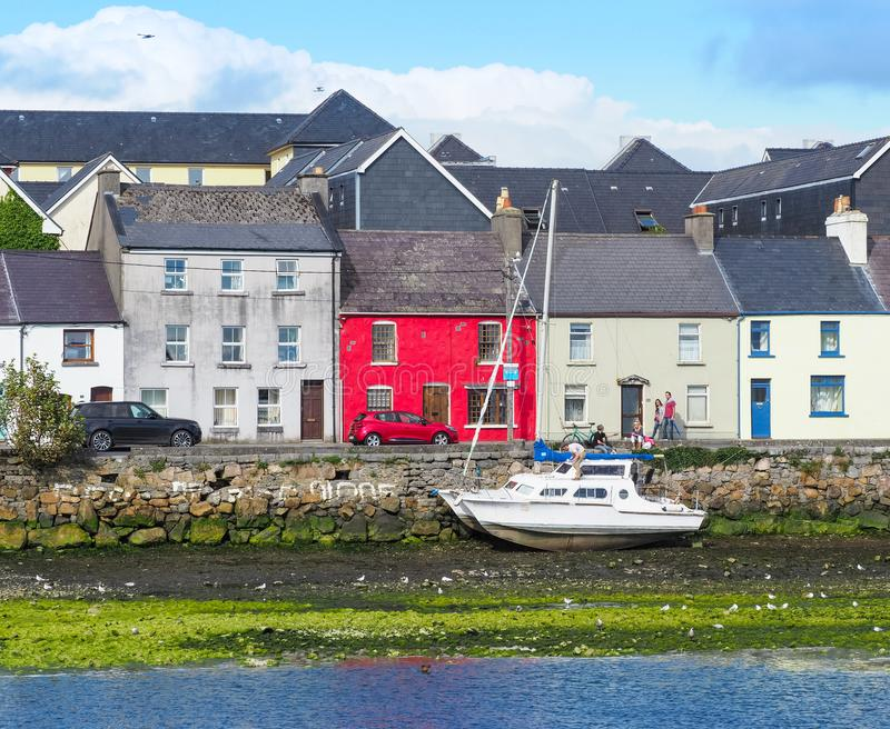 The Long Walk in Galway royalty free stock photography