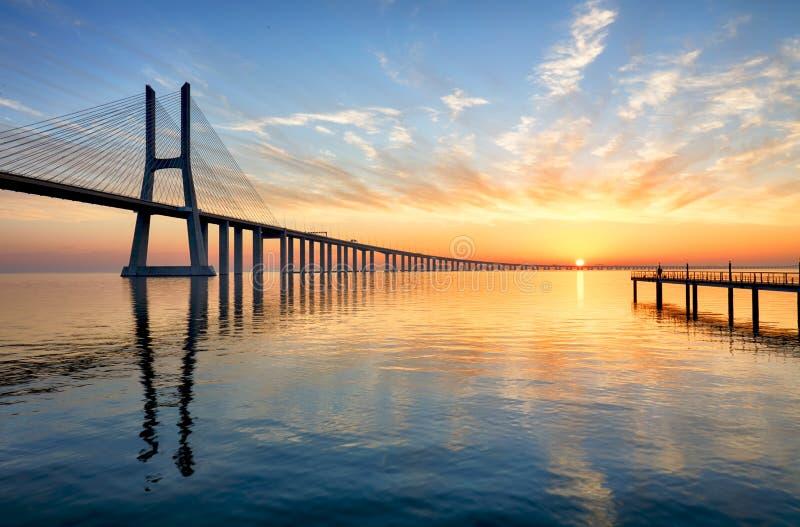 Gama της Πορτογαλίας, Λισσαβώνα - του Vasco DA στοκ φωτογραφία με δικαίωμα ελεύθερης χρήσης