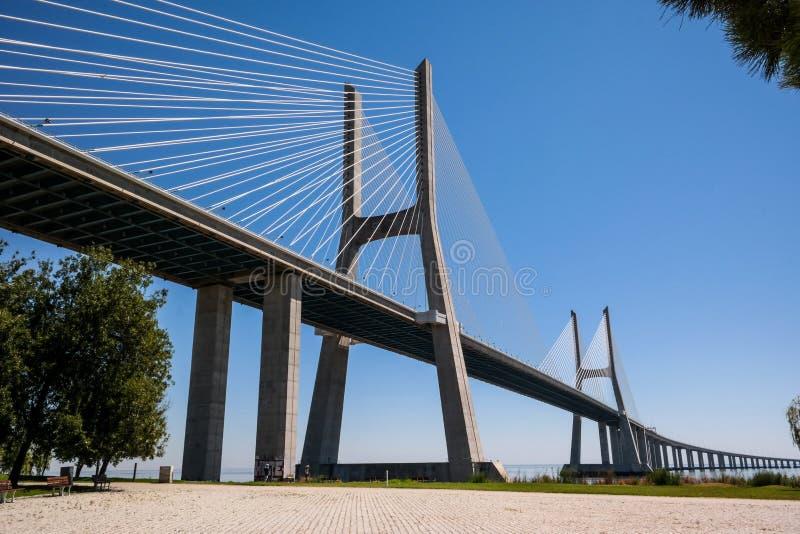 Gama του Vasco DA γέφυρα στοκ φωτογραφίες με δικαίωμα ελεύθερης χρήσης