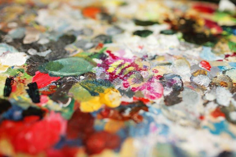 Gama de colores fotografía de archivo