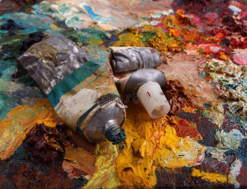 Gama de colores fotos de archivo