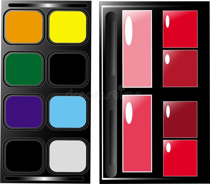 Gama De Colores Fotos de archivo libres de regalías