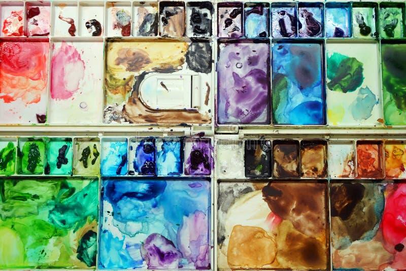 gama de colores colorida foto de archivo