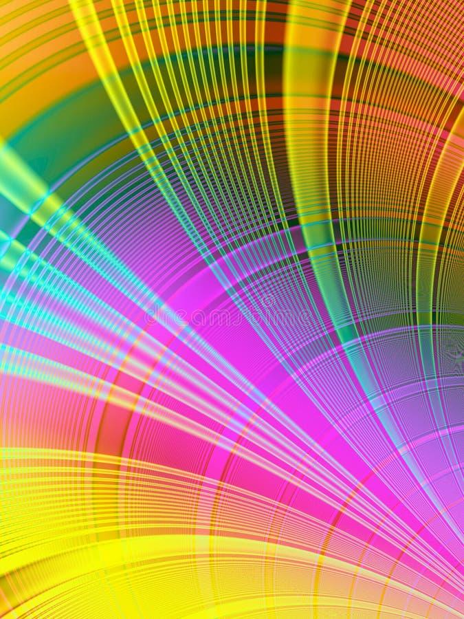 Gama de colores de color ilustración del vector