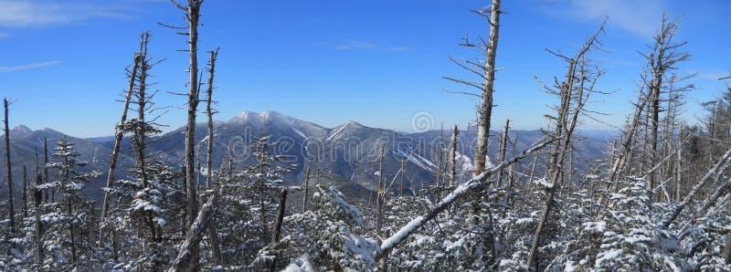 Gama de los altos picos del Adirondacks gran imágenes de archivo libres de regalías