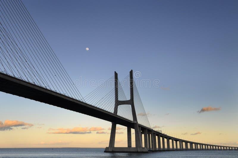 gama Vasco DA γεφυρών στοκ εικόνα με δικαίωμα ελεύθερης χρήσης