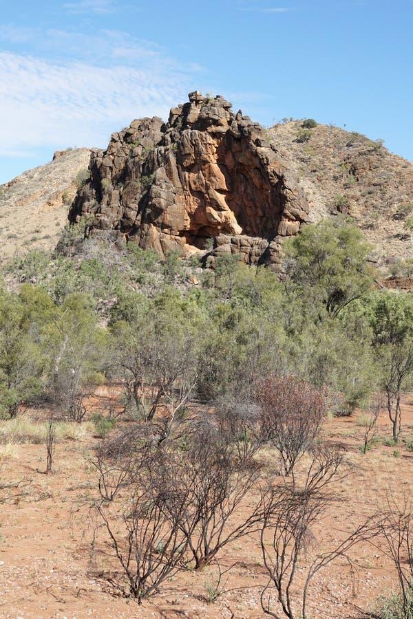 Gamas del este de MacDonnell, Australia fotos de archivo