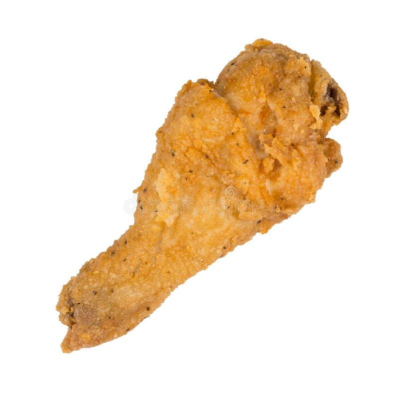 Gamba di pollo fritto fotografie stock