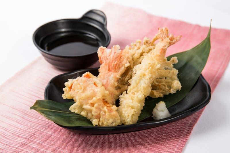 Gamberetto della tempura immagine stock