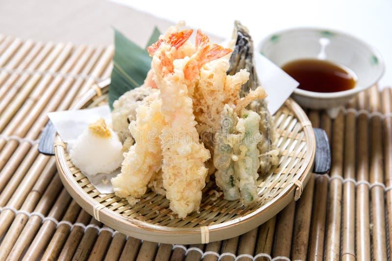 Gamberetto della tempura immagine stock libera da diritti