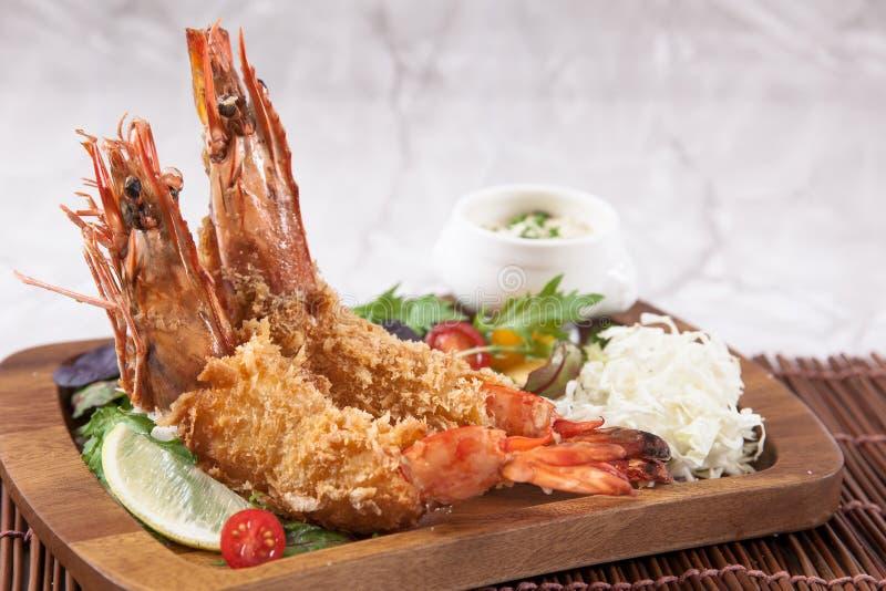 Gamberetto della tempura fotografia stock